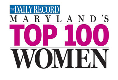 The Daily Record's Maryland's Top 100 Women - Susan Katz Advantage - Business Coaching Services