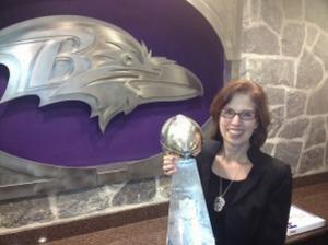 Balt Ravens Vince Lombardi Trophy